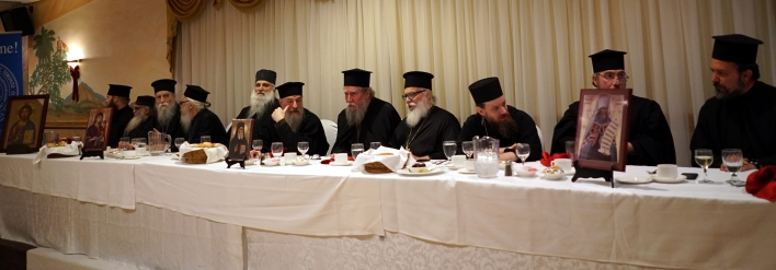 The Clergy from Banquet St Nektarios Nov 24 2019